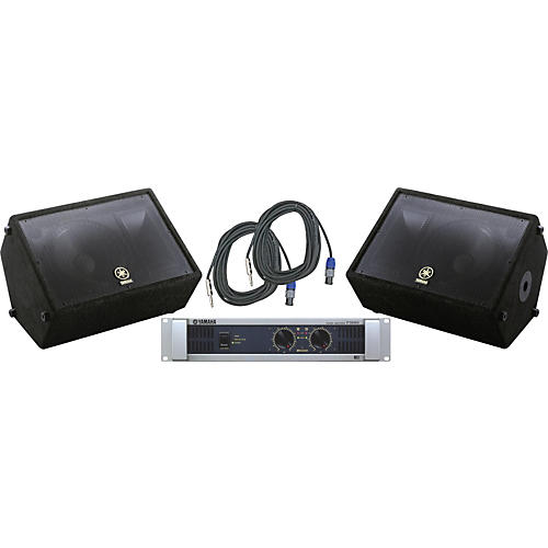 Yamaha A12M / P3500S Speaker & Amp Package