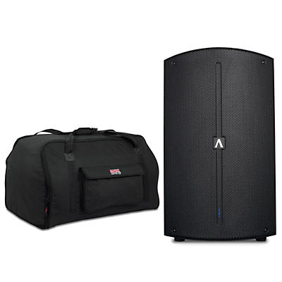"Avante A15 15"" 1,200W Powered Speaker with Tote"