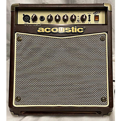 Acoustic A15V 15W Acoustic Guitar Combo Amp