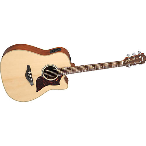 Yamaha A1M Dreadnought Acoustic-Electric Guitar w/ Hardshell Guitar Case