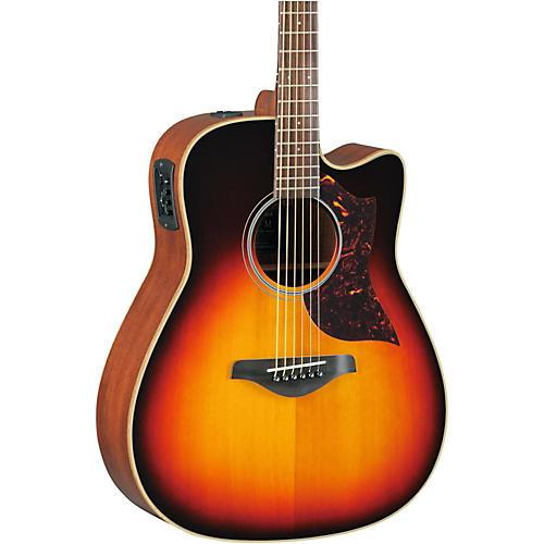 Yamaha A1M Folk Cutaway Acoustic-Electric Guitar