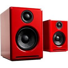 A2+ Wireless Bluetooth Desktop Speakers Red