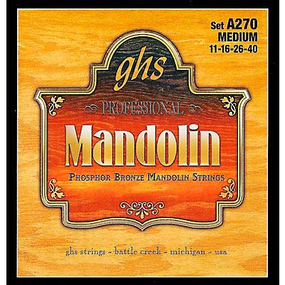 GHS A270 Phosphor Bronze Mandolin Strings