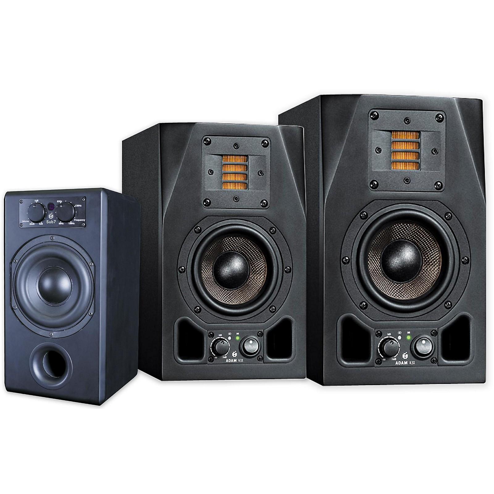 Adam Audio A3X-SUB7 2.1 Package