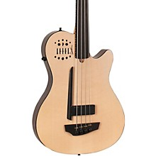 Open Box Godin A4 Ultra Natural Fretless SA Acoustic-Electric Bass Guitar