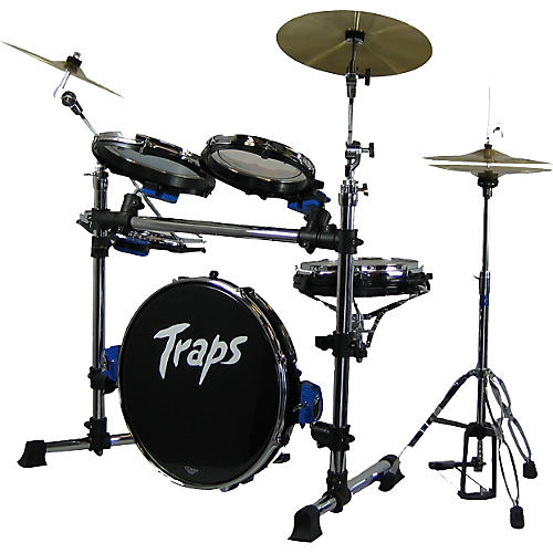 Traps Drums A400 Acoustic Drum Set with B8 Sabian Cymbals