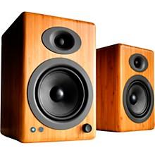 A5+ Wireless Bookshelf Speakers Maple