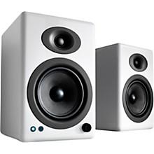A5+ Wireless Bookshelf Speakers White
