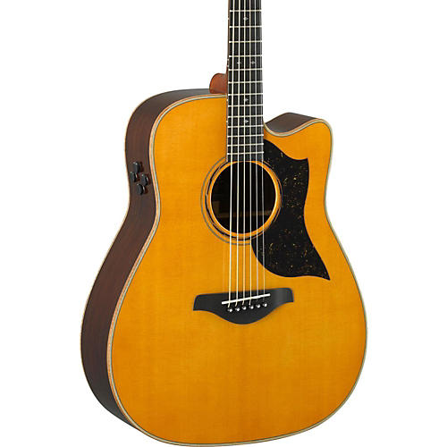 yamaha a5r a series folk acoustic electric guitar vintage natural musician 39 s friend. Black Bedroom Furniture Sets. Home Design Ideas