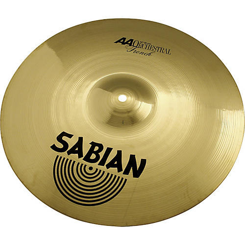 Sabian AA French Cymbals Condition 1 - Mint 22 in.