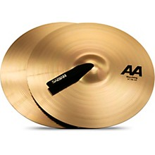 AA Marching Band Cymbals 14 in. Brilliant Finish
