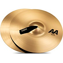 AA Marching Band Cymbals 16 in. Brilliant Finish