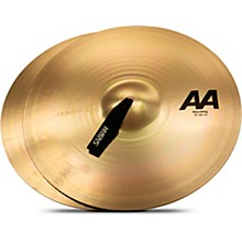 AA Marching Band Cymbals 18 in. Brilliant Finish