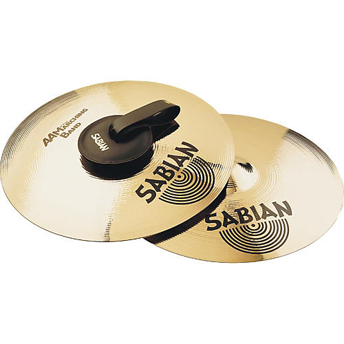 Sabian AA Marching Band Cymbals Condition 1 - Mint 22 in.