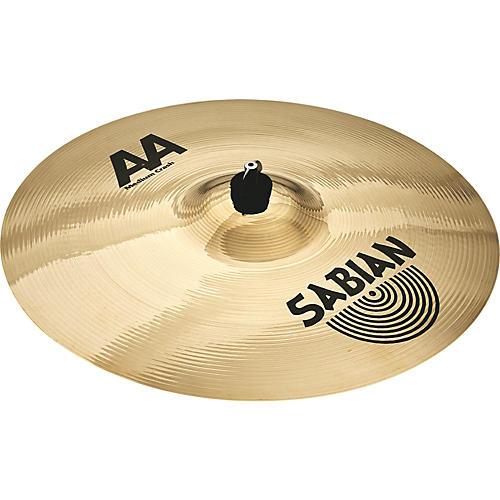 sabian aa medium crash cymbal 20 musician 39 s friend. Black Bedroom Furniture Sets. Home Design Ideas