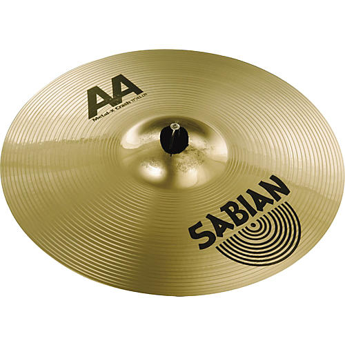 sabian aa metal x crash cymbal musician 39 s friend. Black Bedroom Furniture Sets. Home Design Ideas