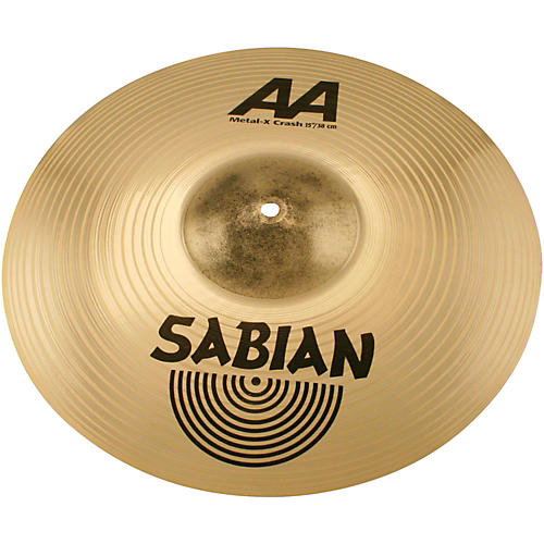 sabian aa metal x crash cymbal brilliant musician 39 s friend. Black Bedroom Furniture Sets. Home Design Ideas