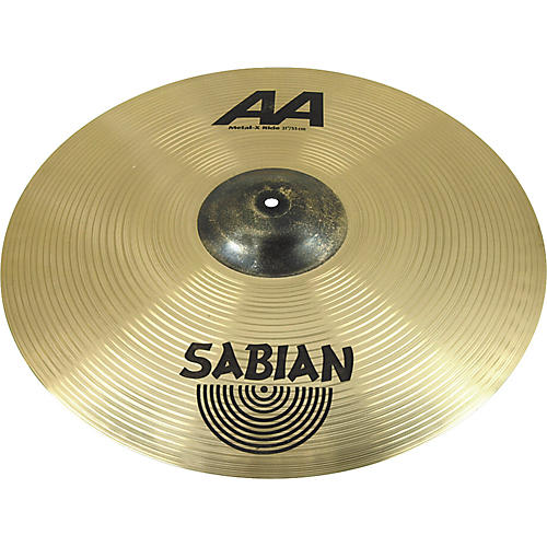 sabian aa metal x ride cymbal musician 39 s friend. Black Bedroom Furniture Sets. Home Design Ideas