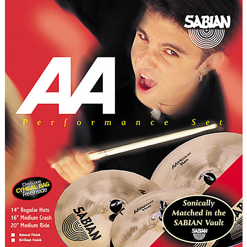Sabian AA Performance Pack with Cymbal Bag