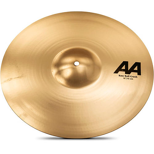 Sabian AA Raw Bell Crash Cymbal 16 in. Brilliant