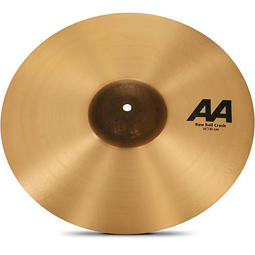 Sabian AA Raw Bell Crash Cymbal 16 in.