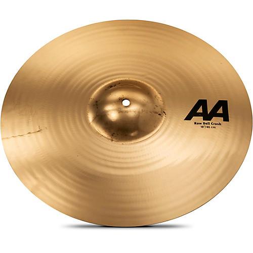 Sabian AA Raw Bell Crash Cymbal