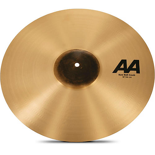 Sabian AA Raw Bell Crash Cymbal 18 in.