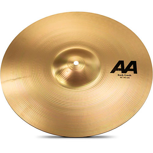 Sabian AA Rock Crash Cymbal Brilliant