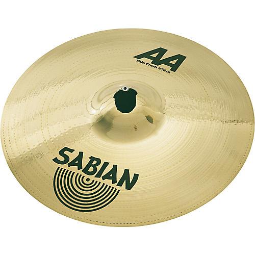 Sabian AA Series Thin Crash
