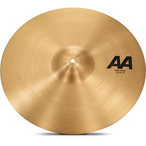 Sabian AA Series Thin Crash