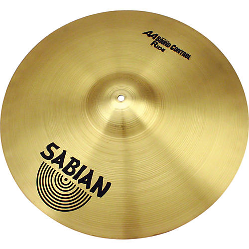 Sabian AA Sound Control Ride Cymbal - 20
