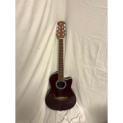 Applause AA13 Minibowl Cutaway Acoustic Guitar