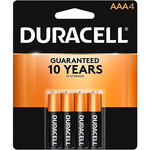 Duracell AAA Batteries 4-Pack | Musician's Friend