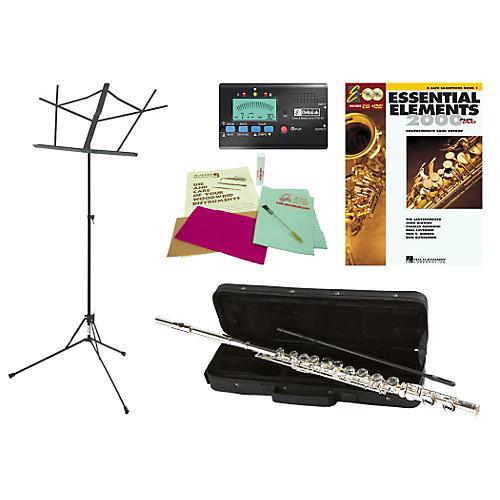 Allora AAFL-229 Beginner Student Flute Bundle