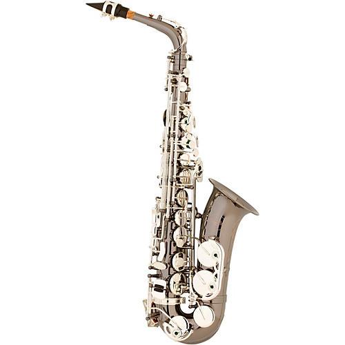 Allora AAS-450 Vienna Series Alto Saxophone Black Nickel Body Silver Keys
