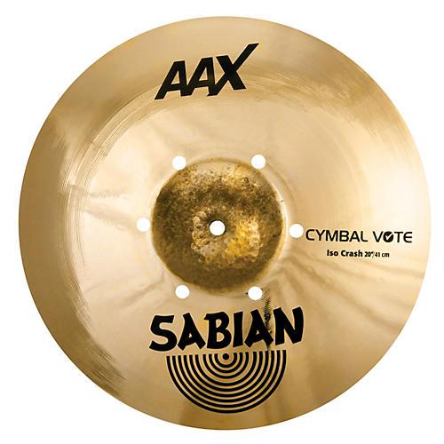 Sabian AAX ISO Crash Cymbal