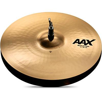 Sabian AAX Medium Hi-Hats Brilliant