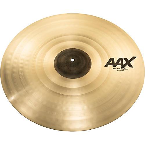 Sabian AAX Raw Bell Dry Ride Cymbal 21 in.