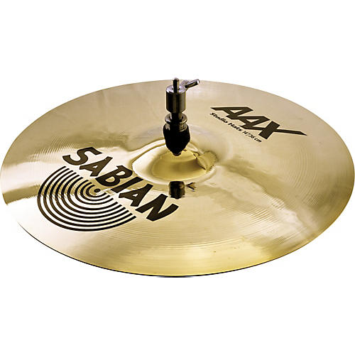 Sabian AAX Stage Hi-Hat Cymbal Top Brilliant Condition 2 - Blemished 14 in. 194744036392