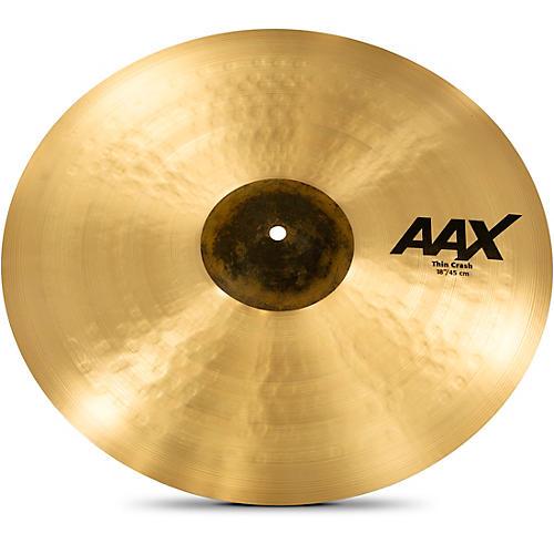 Sabian AAX Thin Crash Cymbal 18 in.