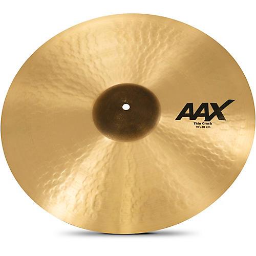Sabian AAX Thin Crash Cymbal 19 in.