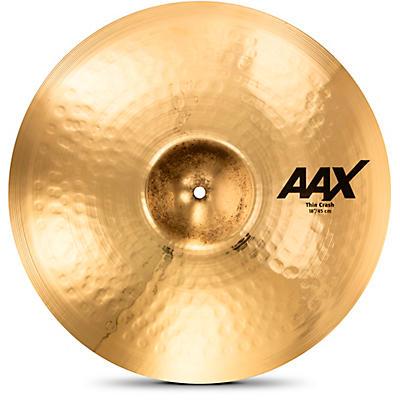 Sabian AAX Thin Crash Cymbal Brilliant