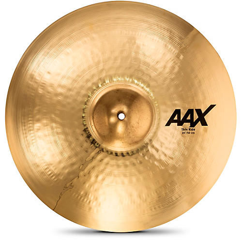 Sabian AAX Thin Ride Cymbal, Brilliant 20 in.