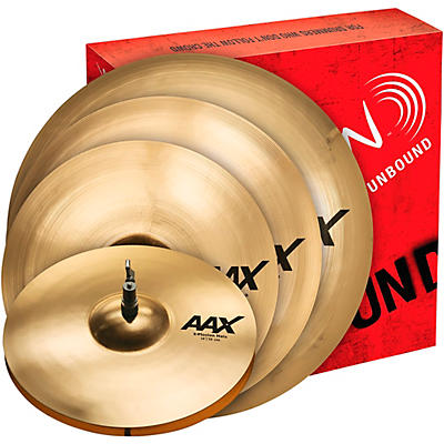 "Sabian AAX X-Plosion Cymbal Pack with Free 18"" Crash"