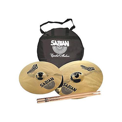 Sabian AAXplosion Crash Pack
