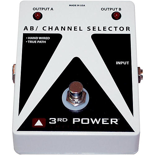 3rd Power Amps AB Box Hand Wired Guitar Footswitch