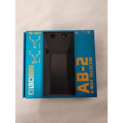 Boss AB2 2 Way Selector Pedal
