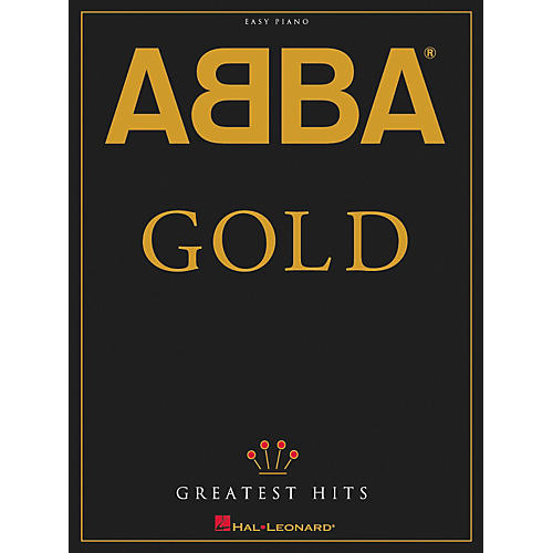 Abba Piano Sheet Music Easy: Gold Greatest Hits For Easy Piano