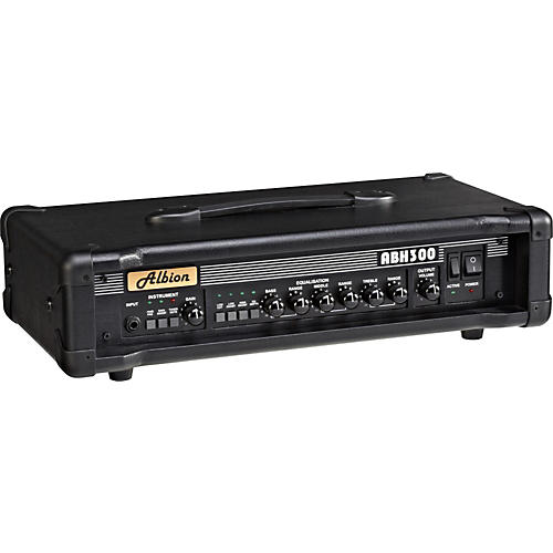Albion Amplification ABH Series ABH300H 300W Tube Bass Amp Head
