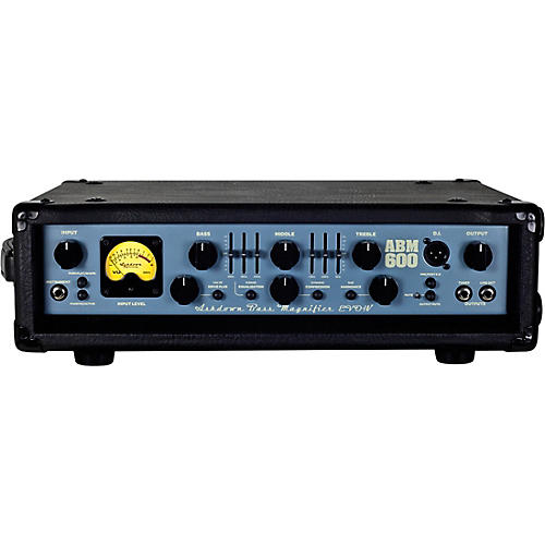 Ashdown ABM 600 EVO IV 600W Tube Hybrid Bass Amp Head